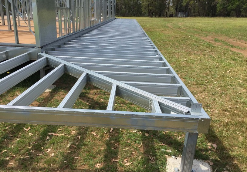 Spantec Steel Floor Amp Roof Frame Systems Bearers Joists