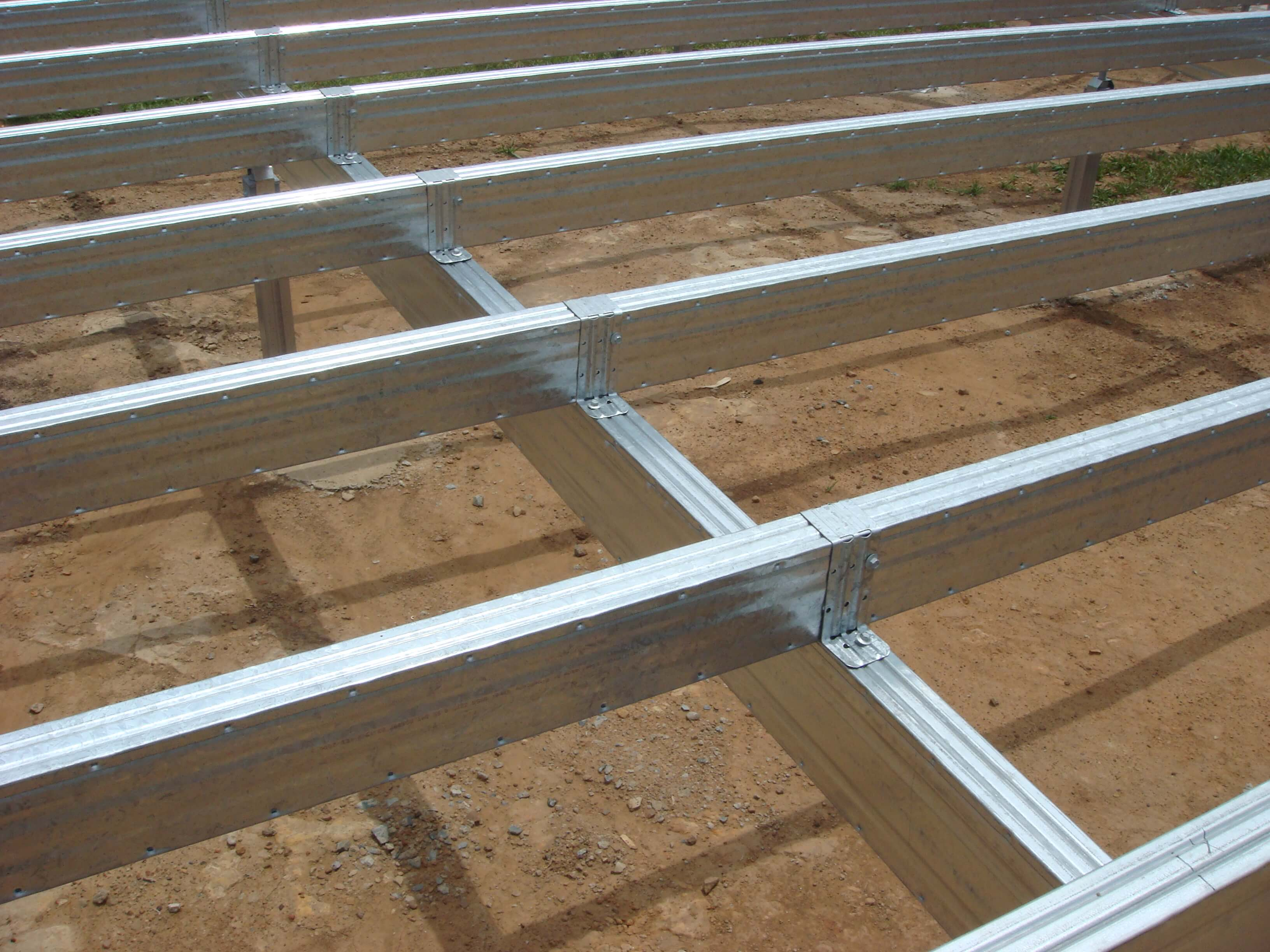Boxspan elevated raised perimeter floor frame