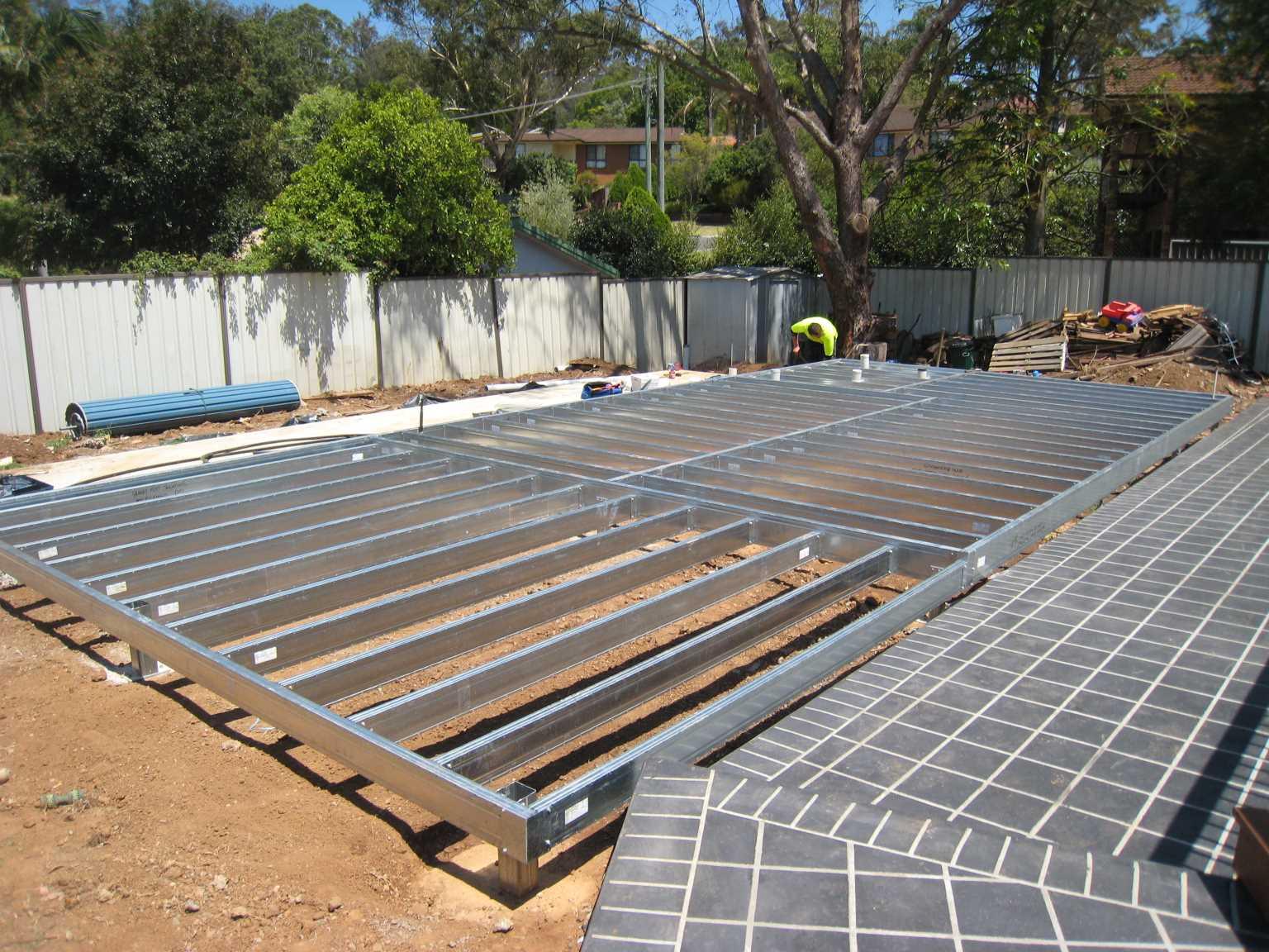 Boxspan Steel Kit Flooring System Sub Floor Piers