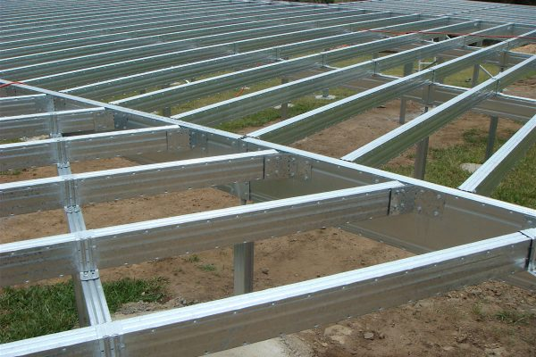 Boxspan floor frame brackets enable any angle in a design
