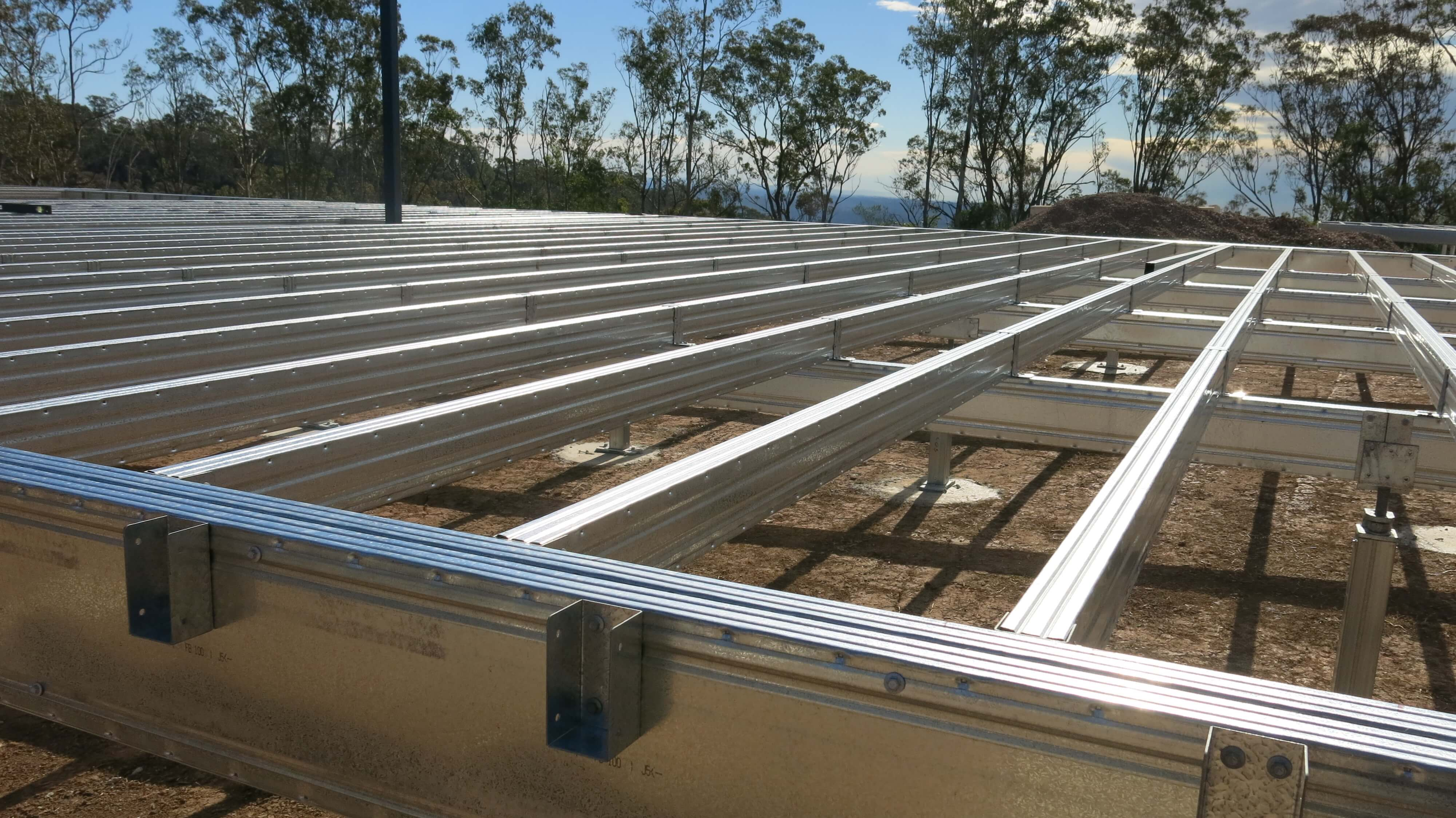 Spantec Steel Floor & Roof Frame Systems