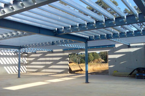 Large clear spans with Boxspan floor joists