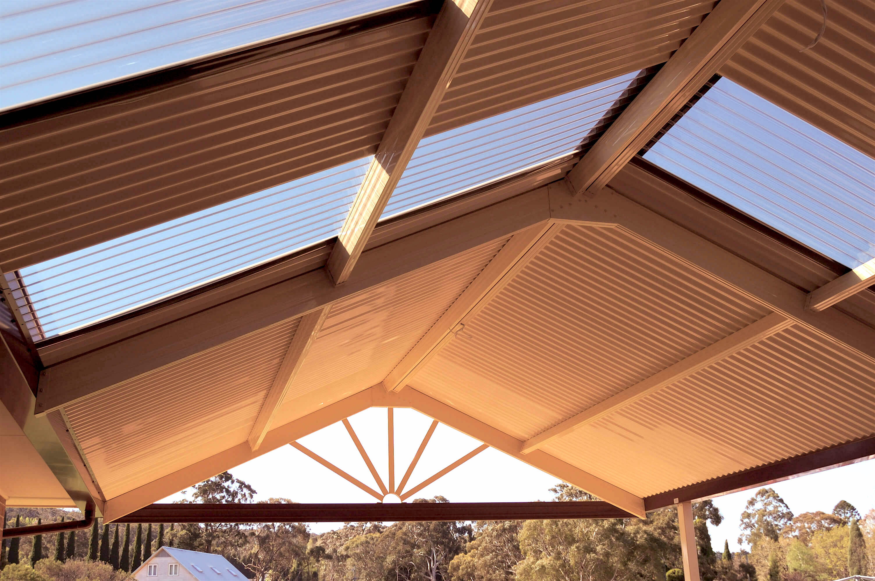 Colorbeam Light Structural Steel Roof Beams For Home