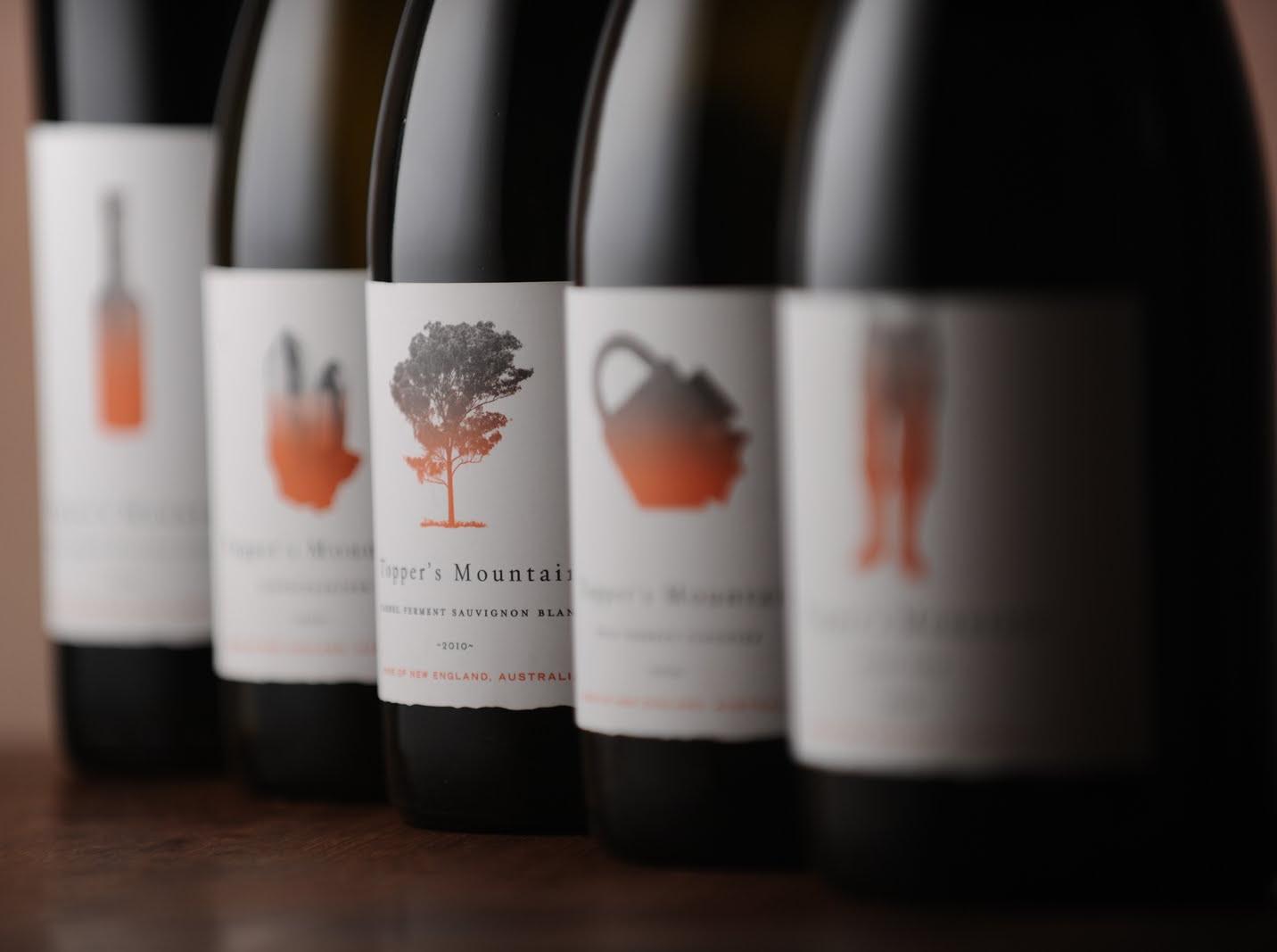 Topper's Mountain wine
