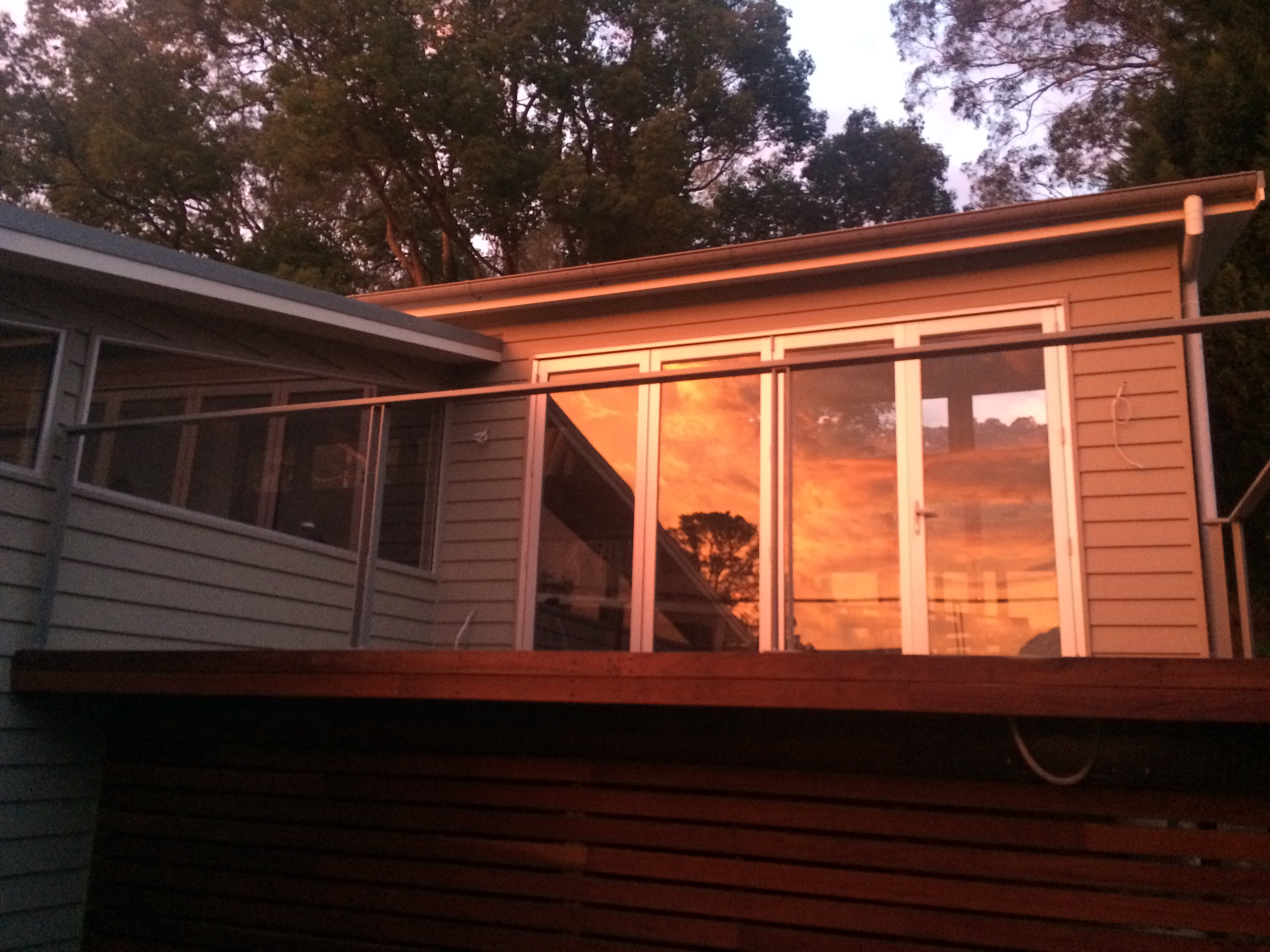 Completed deck with Boxspan frame