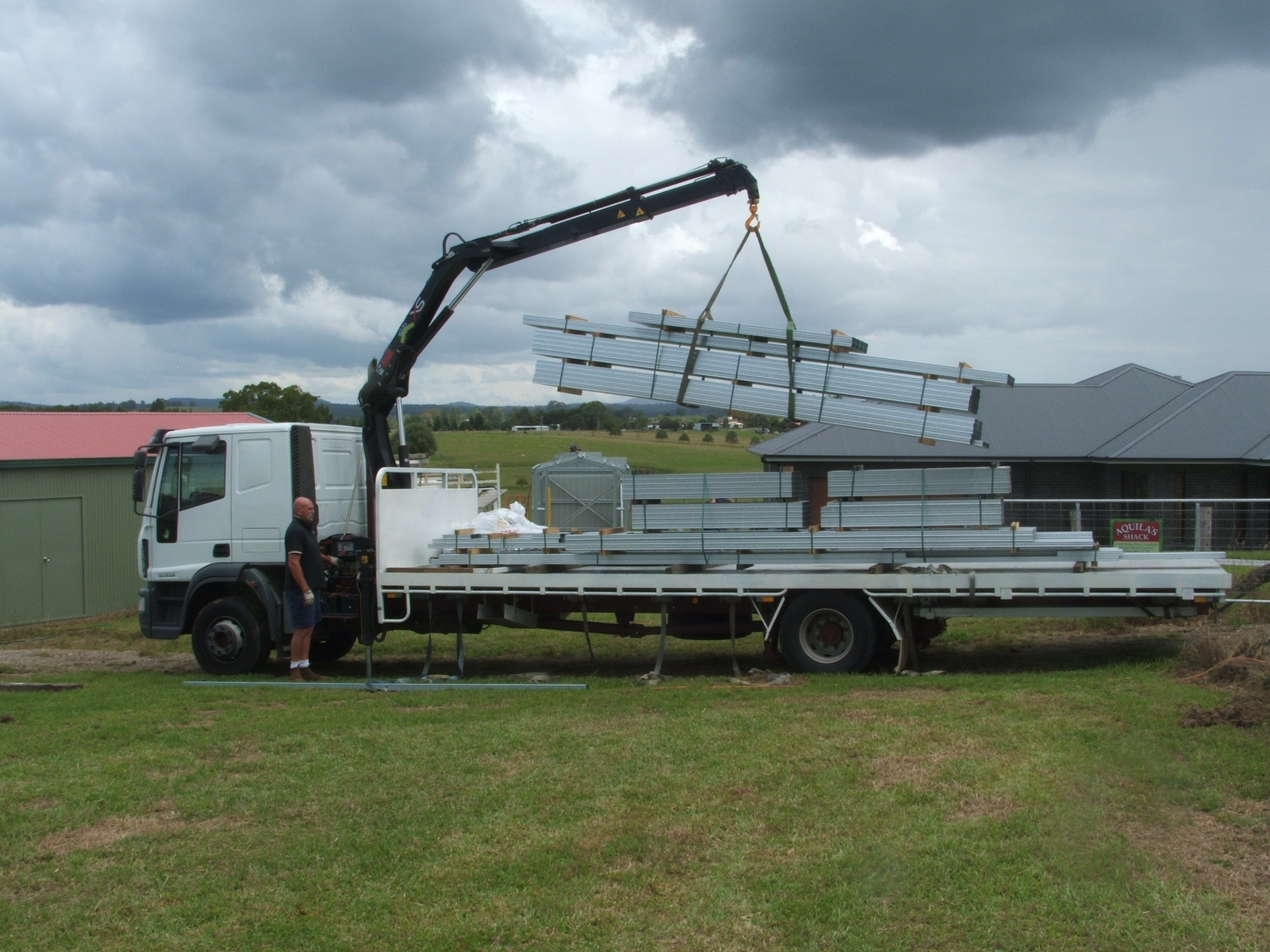 Boxspan floor frame delivery